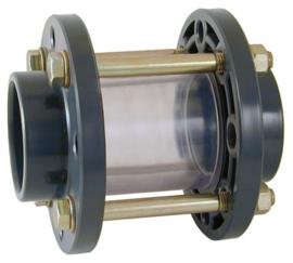 Zicht/inspectieglas 50mm PN6