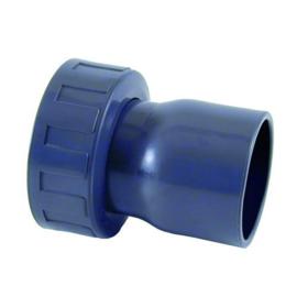 """PVC overgangskoppeling Ø40 x 2"""" binnendraad PN16"""