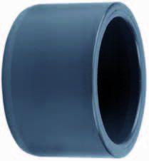 """PVC verloopring 50mm uitwendig x 1½"""" inwendig"""