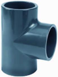 """PVC T-stuk 1½"""" lijm PN16"""