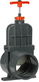 VDL schuifafsluiter 160mm lijm