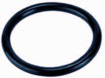 O ring 3/3 spuitgiet koppeling rubber (EPDM)