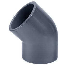 Econo-line PVC knie 45° 32mm PN10