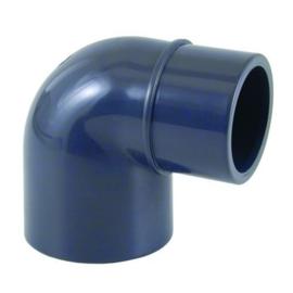 PVC knie 90° 50 x 50 - 40mm PN16