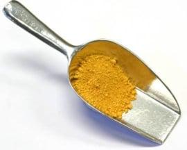 Geeloker droog pigment