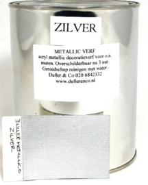 Zilververf - zilver metallic