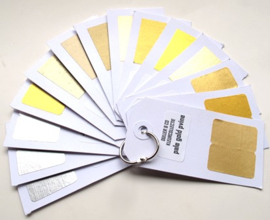 Waaier goudverf kleuren