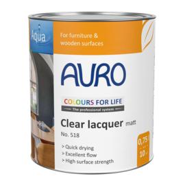 Auro 518 Blanke lak zijdeglans