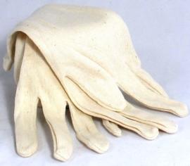 Handschoen zacht katoen uni