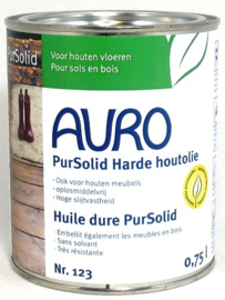 Auro harde olie Pur Solid 123