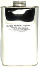Chinese houtolie / tungolie