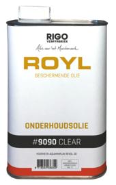Royl onderhoudsolie blank en wit