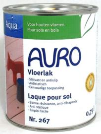 Vloerlak zijdeglans 267 Auro, watergedragen
