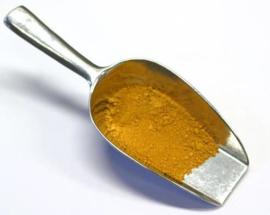 Siena ongebrand droog pigment
