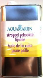Gekookte lijnolie Aquamarijn