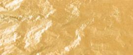 Oranje dubbelgoud 22 karaats vast op vloei