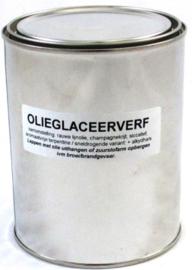 Oliesaus / Olieglaceerverf voor wit marmer