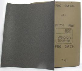 Schuurpapier nat / droog P 80 - P 2500