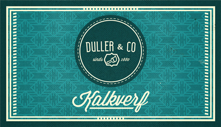 Kalkverf Duller & Co kleuren