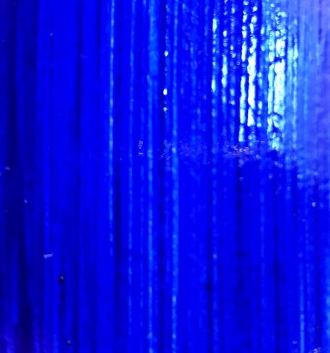 Ultramarijn blauwe lijnolieverf