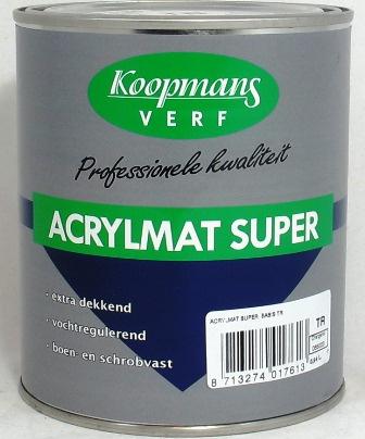 Acrylmat super Koopmans