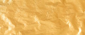 Zuiver goud  los op vloei
