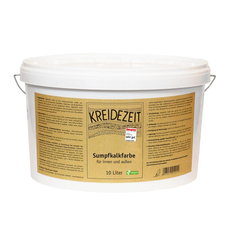 Kreidezeit kalkverf (marmermeel putkalk) voor binnen en buiten