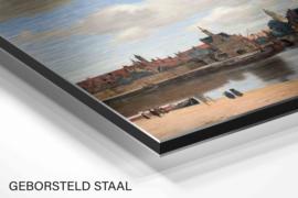 Gezicht op Delft van Johannes Vermeer