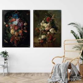 Dubbelzijdige kunst: Stilleven van Harmanus Uppink met Festoen van vruchten van Jan Davidsz. de Heem