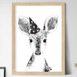 Cheer, Little Deer kinderkamerposter