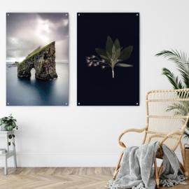 Dubbelzijdige kunst: Faroe Islands met Vintage herbs