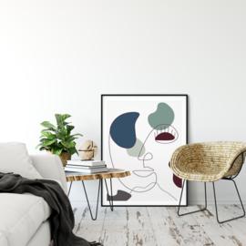 Chinese Porcelain - Ilse van Elleswijk poster