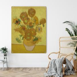 Zonnebloemen in vaas door Vincent van Gogh