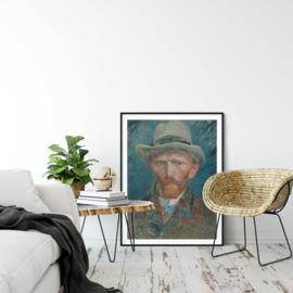 Zelfportret van gogh poster