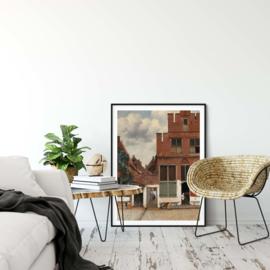Het straatje Vermeer poster