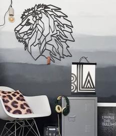 Fabryk design - Leeuw: 77x72 cm wood