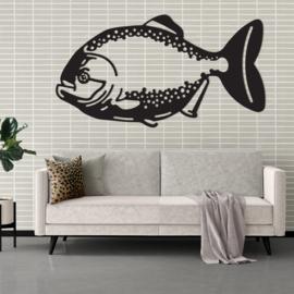 Geometrische vis (piranha)