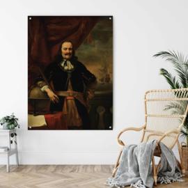 Michiel de Ruyter door Ferdinand Bol