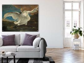 De bedreigde zwaan door Jan Asselijn