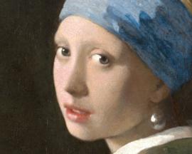 Dubbelzijdige kunst: Meisje met de parel met Het boeket uit 1680