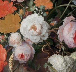 Dubbelzijdige kunst: Stilleven met bloemen met het Melkmeisje van Vermeer