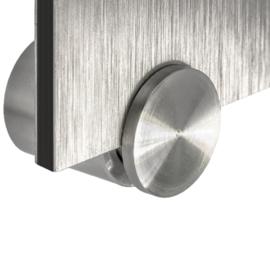 RVS afstandhouders sidegrip voor dibond of plexiglas
