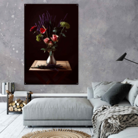 Stilleven met bloemen door Wendy Vastenhouw
