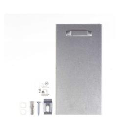 Extra sterke ophangplaat ophangsysteem met max 10 kilo draagkracht voor dibond, plexiglas, metaal of aluminium
