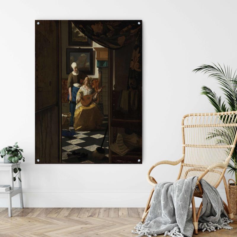 De liefdesbrief door Johannes Vermeer