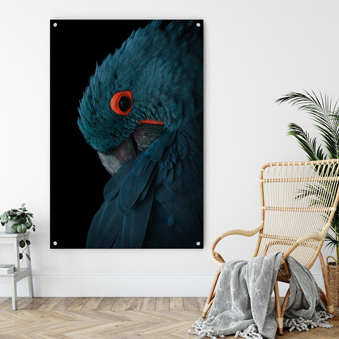 Papegaai schilderij