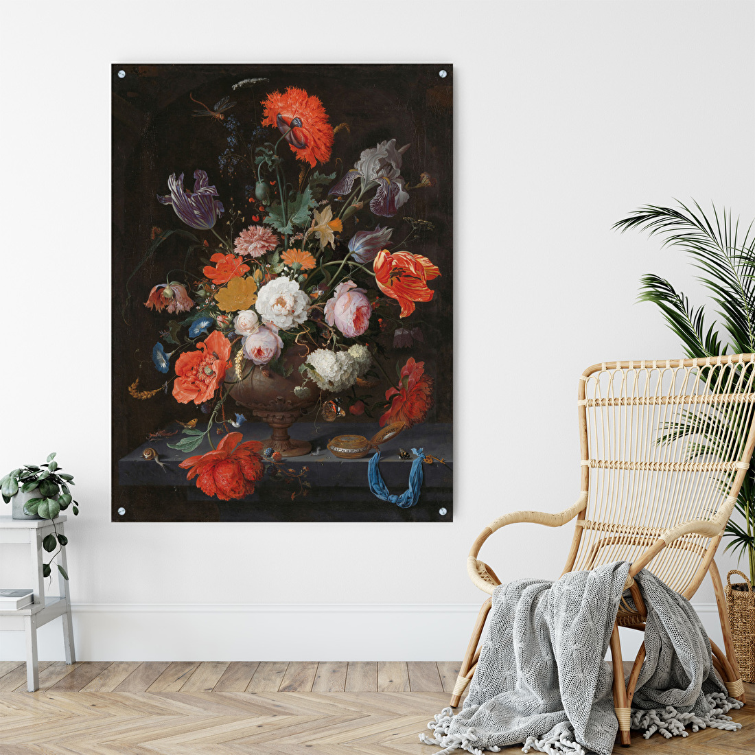 Plexiglas schilderij ophangen