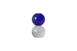 Crystal Color Crush kandelaar Twin, clear/blue