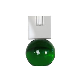 Crystal Color Crush kandelaar Couple, clear/green