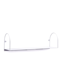 Bow shelf, large/white